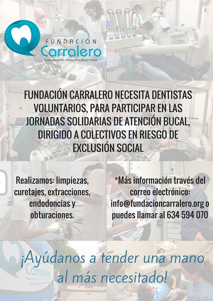 Colabora con Fundación Carralero y ayuda a tender una mano al más necesitado
