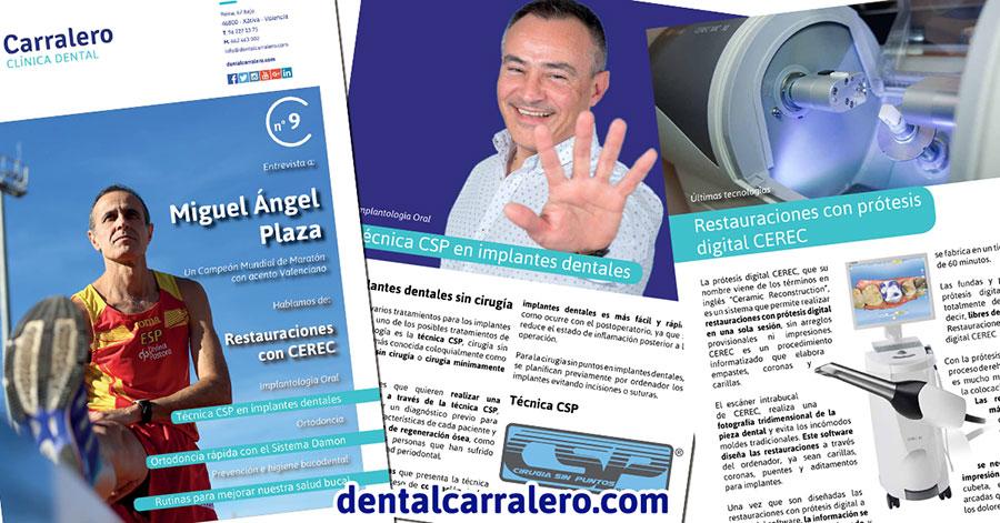Revista Carralero, número 9.