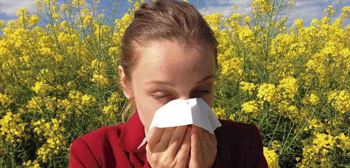 salud bucodental con las alergias